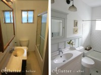 How Sarah Made Her Small Bungalow Bath Look Bigger ...