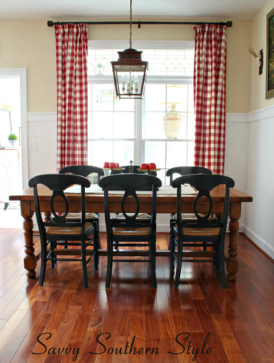 kitchen curtains sets quartz countertops cost quick change: kim's savvy southern style - hooked ...