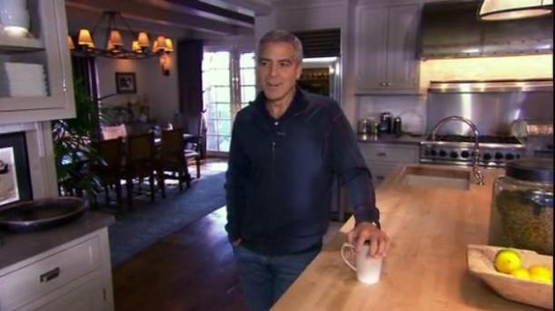 A Peek Inside George Clooneys LA Home  Hooked on Houses