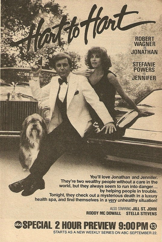 TV Guide ad for Hart to Hart 1979