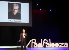 Sir Ken at iPadpalooza in 2013