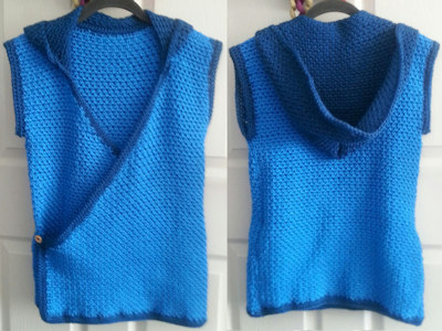 Kiko Hooded Vest Crochet Pattern