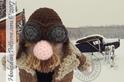 racer astronaut pilot gonk crochet - Pilot Gonk Free Crochet