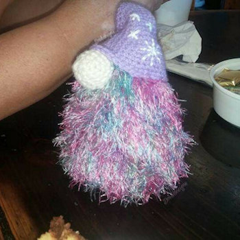 Gonk Purple - Crochet Pattern competition
