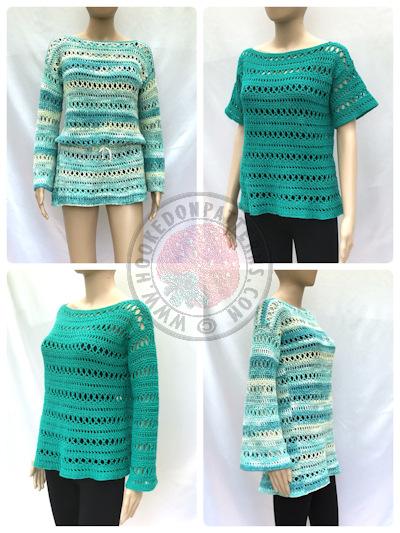 Anysia Summer Tunic Beach Crochet Pattern