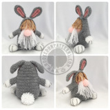 Gonk free crochet patterns - Bunny Gonk Crochet Pattern