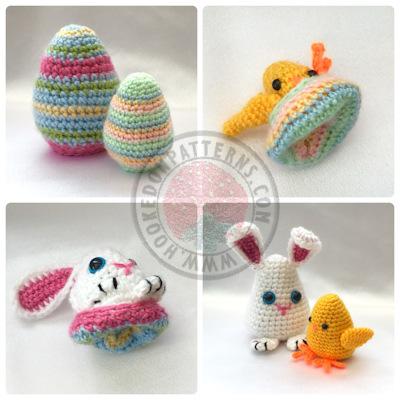 Easter Egg Crochet Pattern - Easter Egg Flips