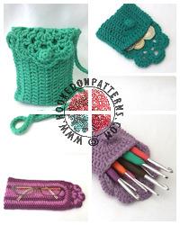 Crochet Patterns to Wear - Floretta Small Bag