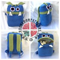 Crochet Patterns for Kids - Knapsack