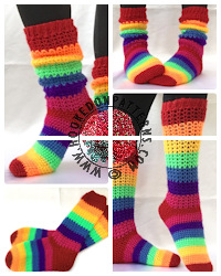 Crochet Patterns to Wear - Socks