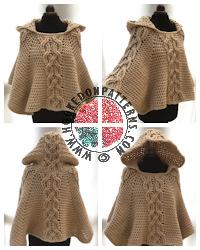 Crochet Patterns to Wear - Poncho