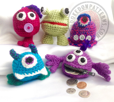 Coin Purse Crochet Pattern – Money Monsters
