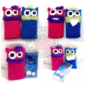 Tissue Monster Holder Crochet Pattern