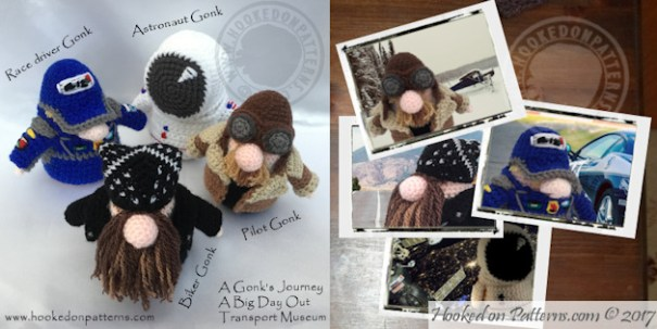 free crochet gonk - Transport Gonk