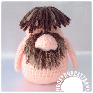 Free gonk crochet pattern - Adam Gonk Crochet Pattern