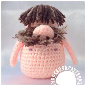 Adam Gonk Crochet Free Pattern