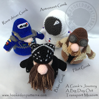 crochet blog competition - Transport Gonks crochet patterns