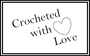 Crochet Craft Fair Tags - Crocheted with Love