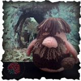 Becoming Santa Gonk free crochet patterns - A Gonks Journey Caveman