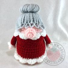 Crochet Christmas Ornament Eve Gonk Hooked On Patterns