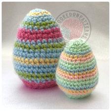 Easter Egg Flips Crochet Pattern