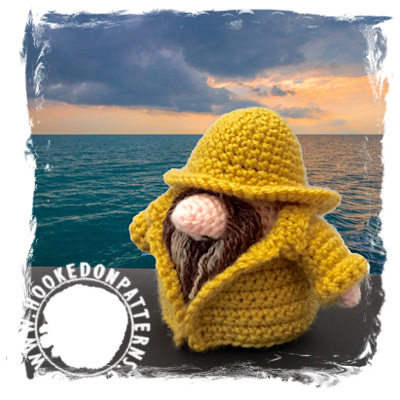 Fisherman Gonk Free Crochet Pattern - Doll Clothes - Hooked On Patterns