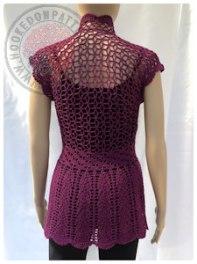 Flory Lace Cardigan Crochet Pattern