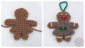Gingerbread Lady Free Crochet Pattern