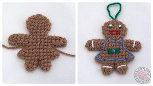 Gingerbread Lady Free Crochet Pattern