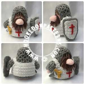 Knight Gonk Free Crochet Pattern