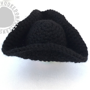 Pirate Hat Free Crochet Pattern