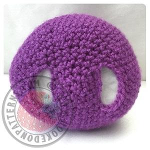 Purple People Eater Crochet Pattern