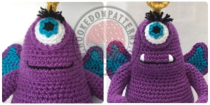 Free toy monster Amigurumi