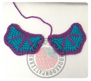 Free wings crochet pattern