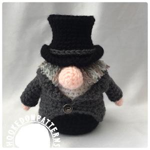 Scrooge Gonk free crochet pattern