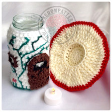 Jar Cover Crochet Pattern