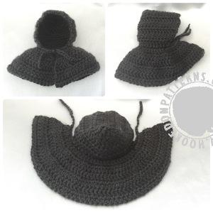 Wizard Cloak Free Crochet Pattern