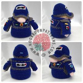 Racer Gonk Crochet Pattern