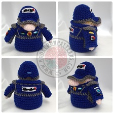 Racer Gonk Outfit Crochet Pattern