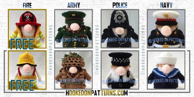 Crochet Heroes Gonks A Gonks Journey - free crochet gonk