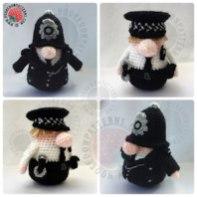How to crochet a policeman uniform