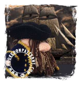 Top 5 Gonks - Pirate Ship Crochet Pattern