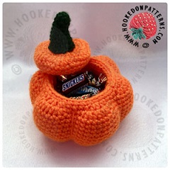 New Crochet Patterns Free Crochet Pumpkin Pots