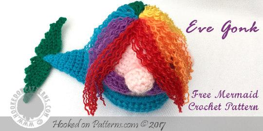 Free Doll Mermaid Crochet Pattern Hooked On Patterns