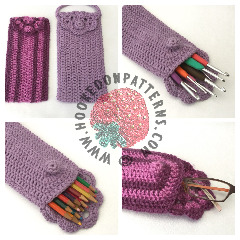 Bag Purse Case Crochet Pattern