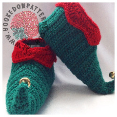 New Crochet Patterns - Elf Shoes Crochet Pattern