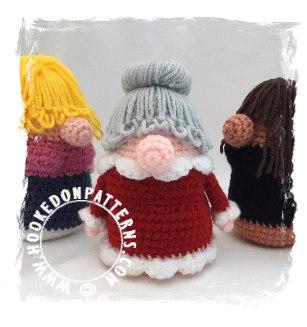 Free Doll Mermaid Crochet Pattern