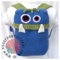 Knapsack Monsters Crochet Pattern