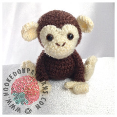 Monkey Amigurumi Crochet Pattern