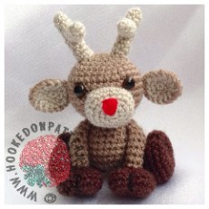Reindeer Christmas Crochet Pattern